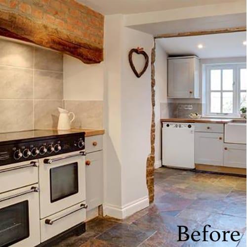 Before - kitchen renovation